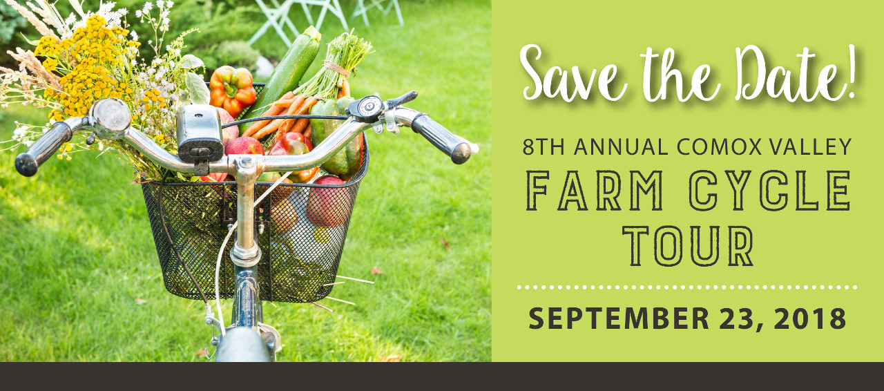 Save the Date! 8th Annual Comox Valley Farm Cycle Tour