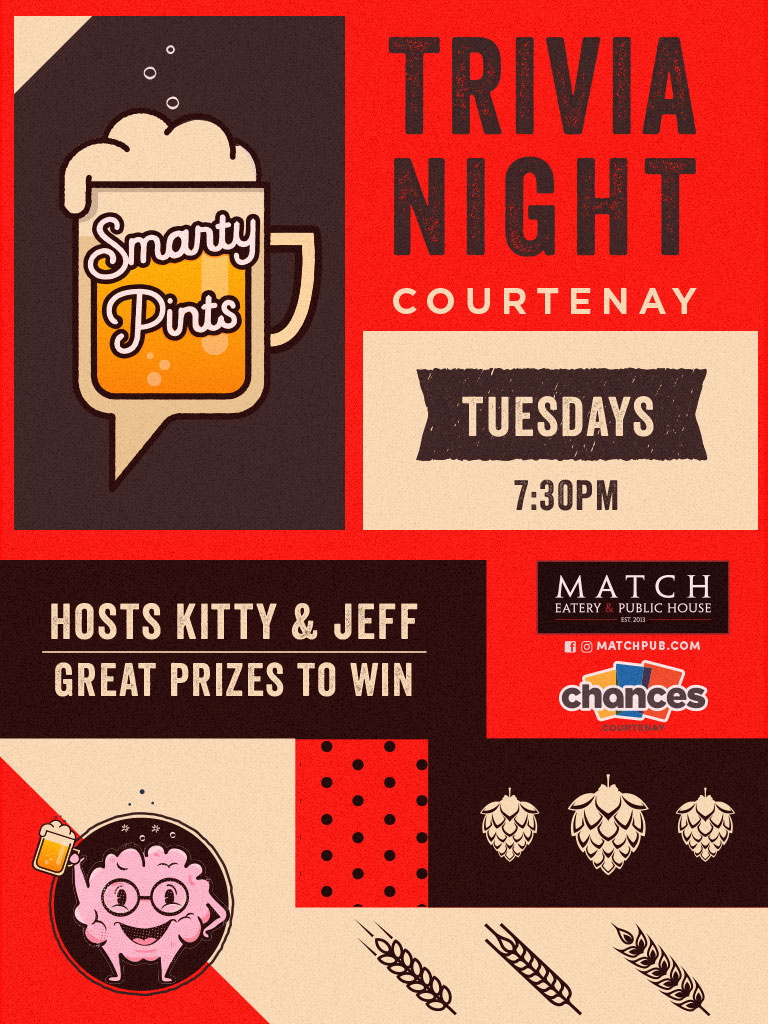 a25c88f232e7 Event Details. Trivia Night. Great Prizes given away every ...